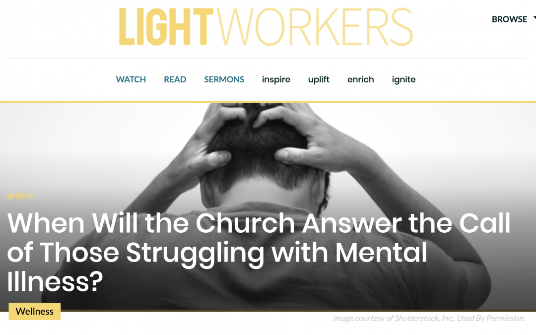 Why the Church Must Help with Mental Health