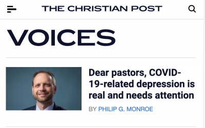 Open Letter to Pastors about Mental Health and COVID-19